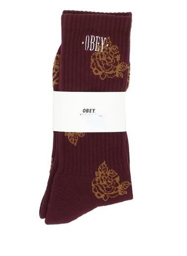Obey Çorap Kırmızı